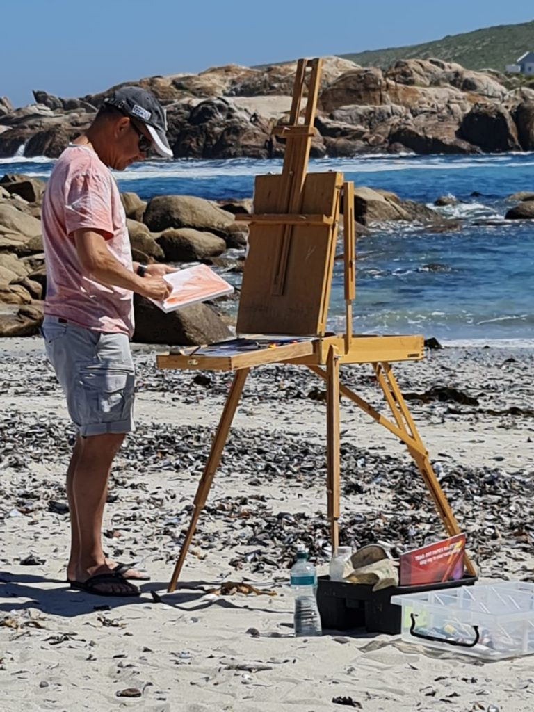 Painting in Paternoster