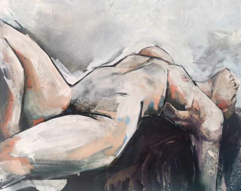 nude study in different mediums